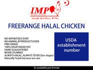 Graphic Design Inscrição do Concurso Nº1 para Graphic Design for US chicken label to be placed on bagged chicken
