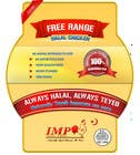Graphic Design Inscrição do Concurso Nº39 para Graphic Design for US chicken label to be placed on bagged chicken