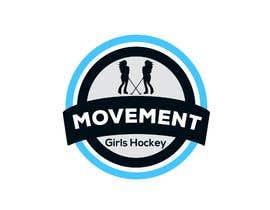 nº 59 pour Girl Hockey Logo par LoisaGold