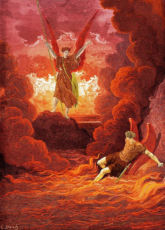 """Конкурсная заявка №11 для Biblical Picture of """"Hell"""""""