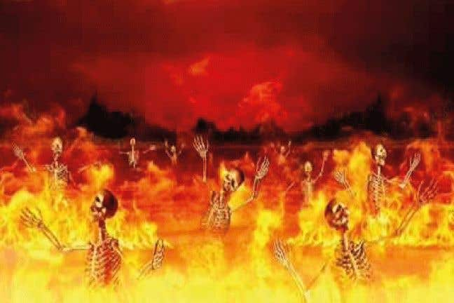 "Конкурсная заявка №14 для Biblical Picture of ""Hell"""