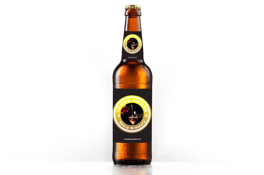 Proposition n°                                        25                                      du concours                                         Design a label for a beer bottle