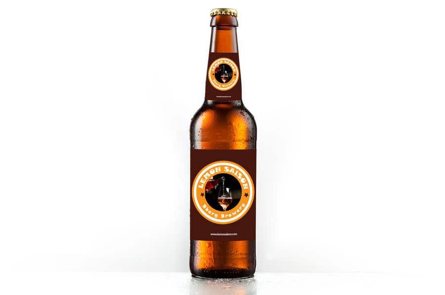 Proposition n°                                        26                                      du concours                                         Design a label for a beer bottle