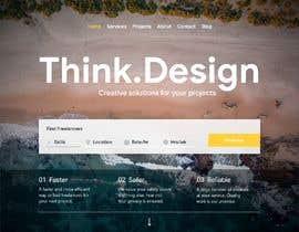 #12 para Mockups UX/UI design for Website por HariPrasad7