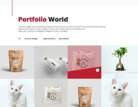 #23 para Mockups UX/UI design for Website por tajenul
