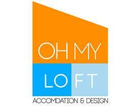 #54 para Diseñar un logotipo for Oh my loft de benjidomnguez