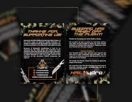 Nro 44 kilpailuun Flyer for a kickstarter project A6 with our logo and product. käyttäjältä mirandalengo