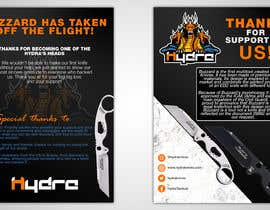 #41 para Flyer for a kickstarter project A6 with our logo and product. por gt4ever