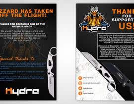 Nro 41 kilpailuun Flyer for a kickstarter project A6 with our logo and product. käyttäjältä gt4ever