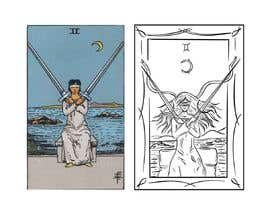 nº 15 pour Illustrate tarot card graphics par EcemDede