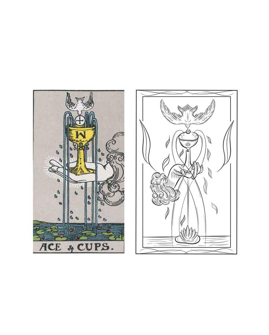 Proposition n°36 du concours Illustrate tarot card graphics