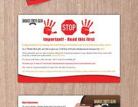 #55 cho Design a product insert/2 sided postcard. bởi CDesigner360