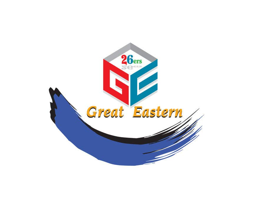 Contest Entry #28 for GE (Great Eastern) 26ers. Darts team. 26 is a score when you hit 20,5,1 a fairly bad throw. So would like this encorporated into the design. A full polo shirt