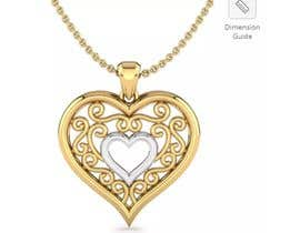 DjordjeSS tarafından The necklace is very special. It's 10k gold with silver or metal, swirls connecting the hearts, it was bought 2015 for Christmas, it is completely flat. As well as was in an unlabeled box so it isn't a big brand like pandora. Thanks. için no 5