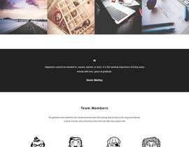 Nro 6 kilpailuun New One-Page (Scrolling with Paralax) Website Contest! käyttäjältä JannnatulMafuja
