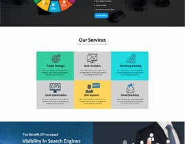 #7 para Social Media Marketing Agency Web site Mock Up por farhanqureshi522