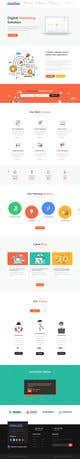 Miniatura da Inscrição nº 13 do Concurso para Social Media Marketing Agency Web site Mock Up
