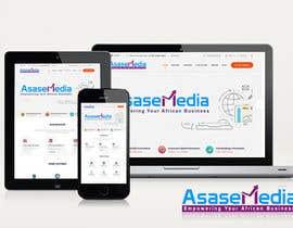 #17 para Social Media Marketing Agency Web site Mock Up por arhabibx