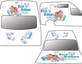 #22 para Bark n' Bubbles Logo and Van Graphics por manikmoon