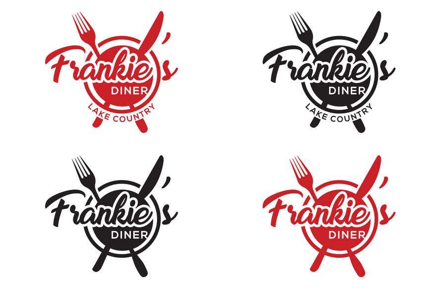 Penyertaan Peraduan #127 untuk Frankie's Diner Logo