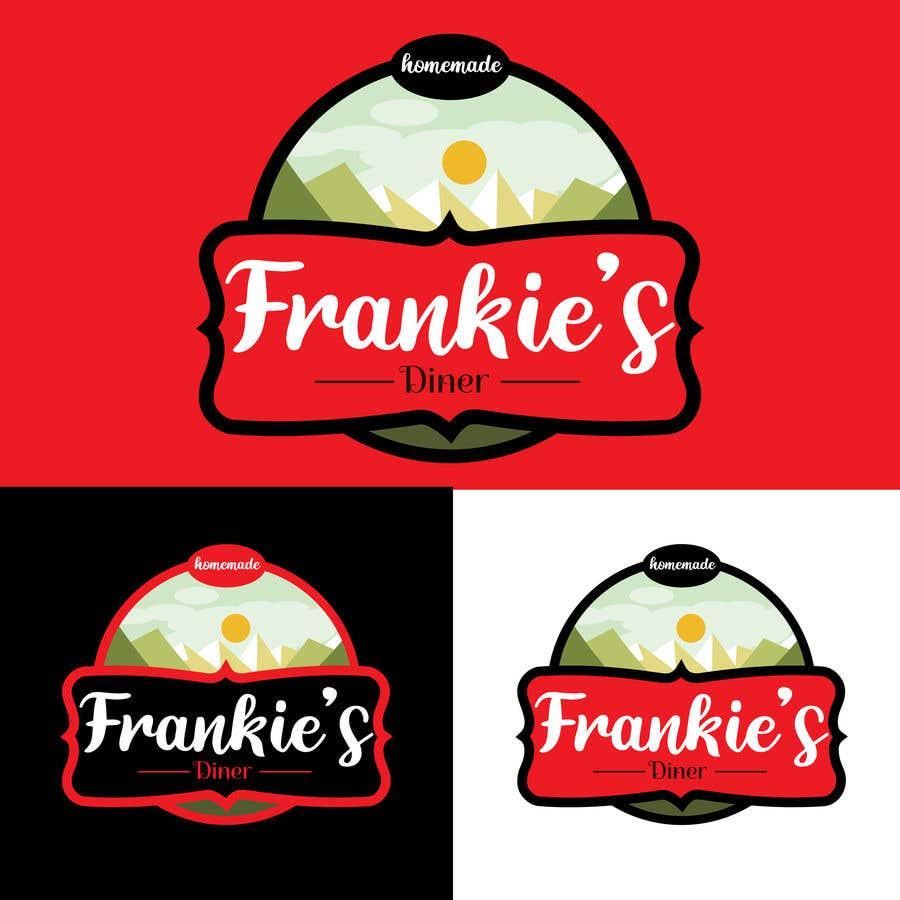Penyertaan Peraduan #173 untuk Frankie's Diner Logo