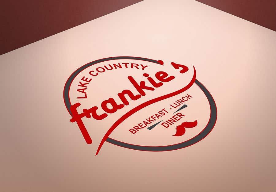 Penyertaan Peraduan #255 untuk Frankie's Diner Logo
