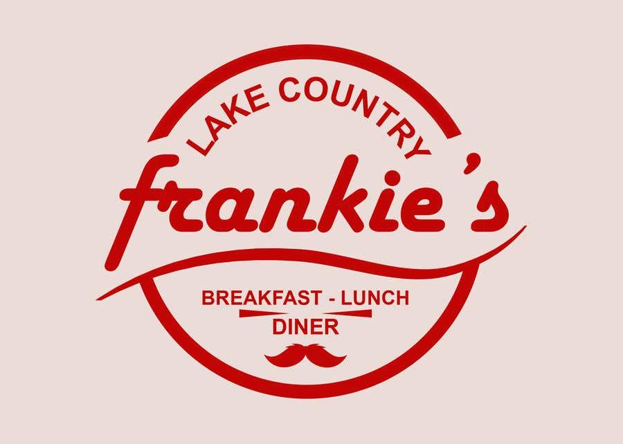 Penyertaan Peraduan #259 untuk Frankie's Diner Logo