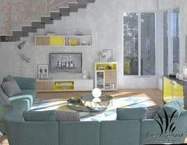 #17 pentru Interior design fir my living area de către emadbahgat888