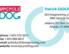 #8 untuk Design some Business Cards for upcycledog.com oleh drdrazendrazic