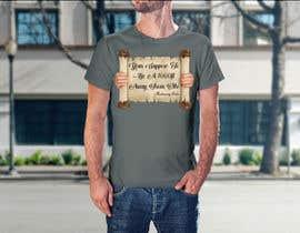 nº 33 pour Design a Tee Shirt par logodesign2019