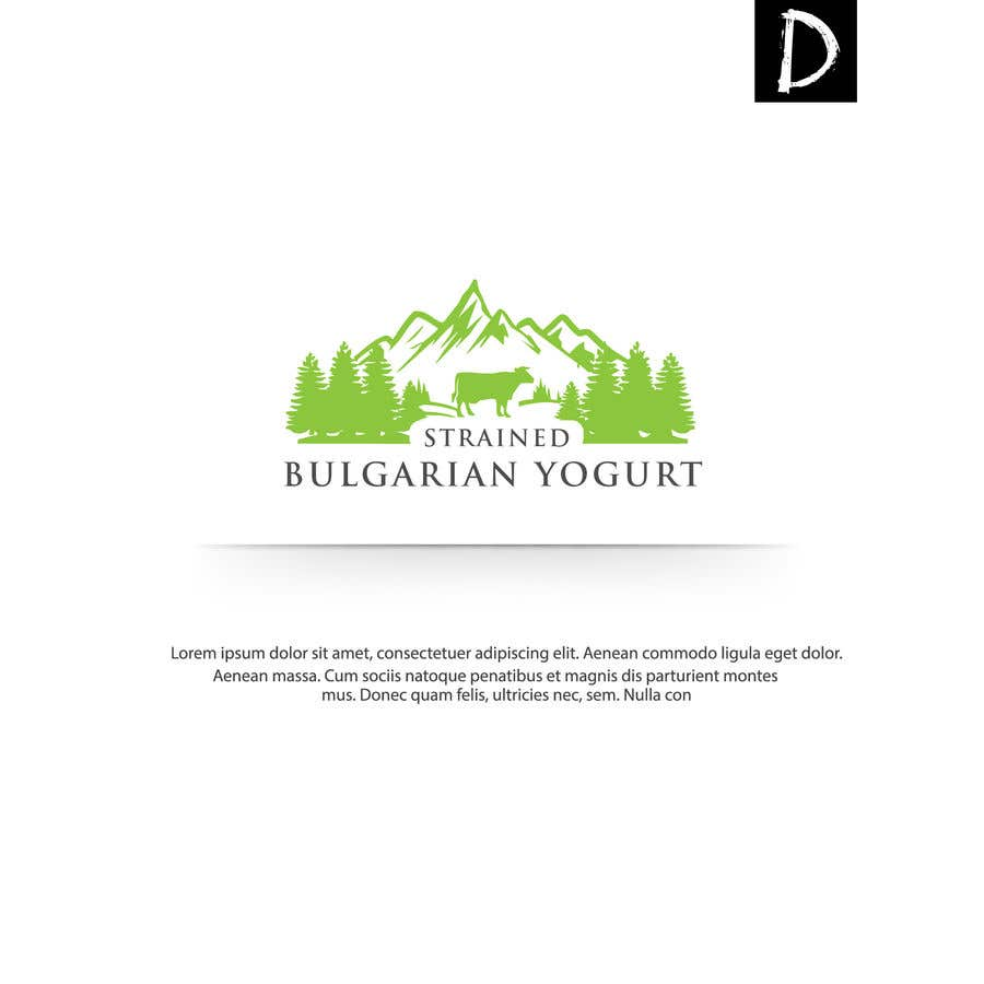 Contest Entry #461 for Art for Yogurt Packaging and Selling Materials