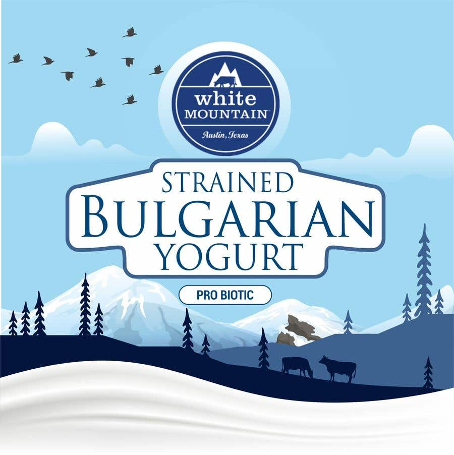 Contest Entry #276 for Art for Yogurt Packaging and Selling Materials