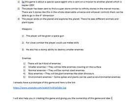 Nro 9 kilpailuun Make Innovative Game Design Document käyttäjältä kartikhatana