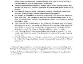 Nro 4 kilpailuun Make Innovative Game Design Document käyttäjältä asarac34