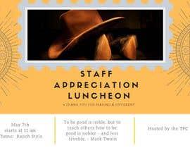 #9 para Luncheon Flyer por Fateharshard