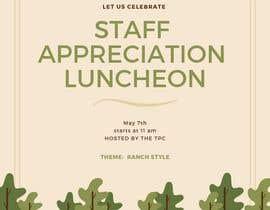 #11 para Luncheon Flyer por Fateharshard