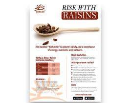 #4 para Poster design for Wellcure - rise with raisins por tsanjeev6252