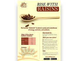 #5 para Poster design for Wellcure - rise with raisins por tsanjeev6252