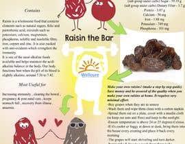 #2 para Poster design for Wellcure - rise with raisins por andjelavr93