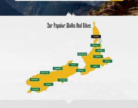 #21 for Design a website for walks & hikes in New Zealand af pchand469