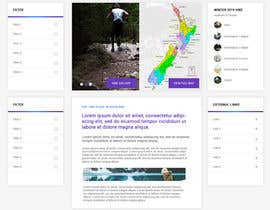 jitenpatel tarafından Design a website for walks & hikes in New Zealand için no 32