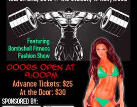 #3 for Design a Flyer for a Hollywood Fitness Party af Rapforthemoment