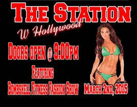 #11 for Design a Flyer for a Hollywood Fitness Party by EyekkonPro