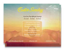 #54 untuk Design an Easter Sunday Postcard oleh mfarazi