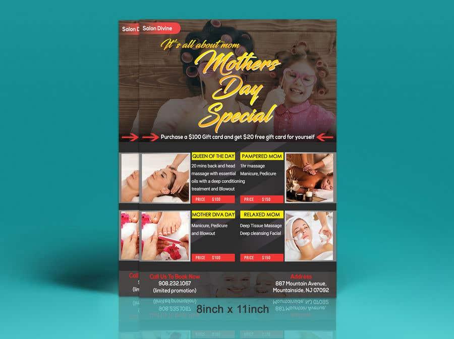 Inscrição nº 63 do Concurso para Poster/Flyer to promote business - Mothers Day