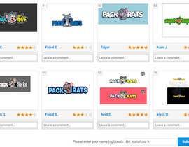 naema17 tarafından Help Pick a logo. Everyone Gets Paid! Prize Divided -Pack Rats- Poll için no 84