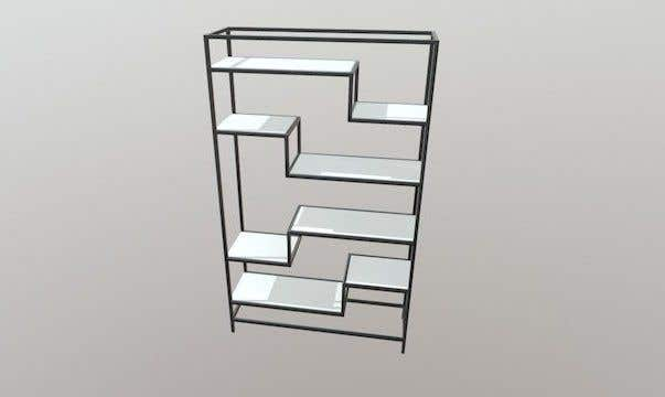Proposition n°31 du concours Render an animated file for configuring and re-configuring a wall bookcase system.