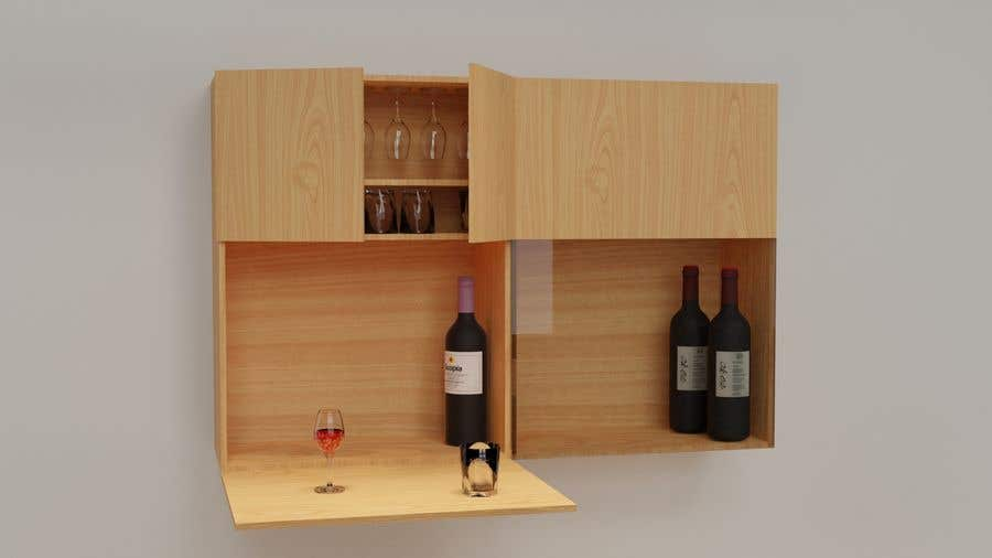 Proposition n°53 du concours Render an animated file for configuring and re-configuring a wall bookcase system.