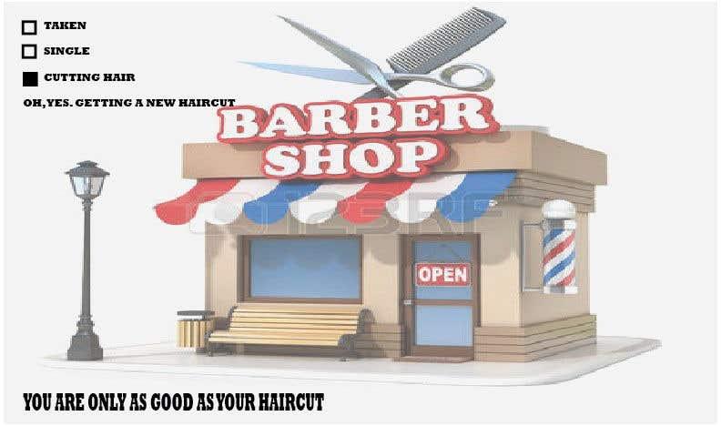 Penyertaan Peraduan #74 untuk Ad Copy For barbershop, to get haircut
