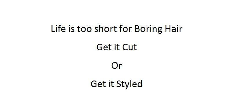 Penyertaan Peraduan #3 untuk Ad Copy For barbershop, to get haircut